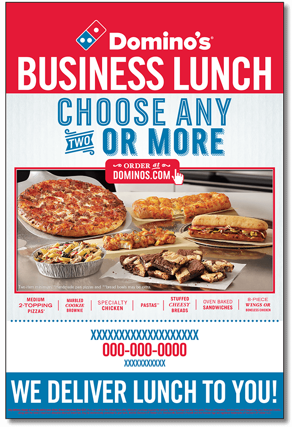 Business Lunch Poster