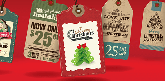 Holiday Sale Tags